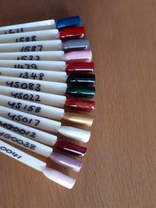 HM Gel Colours 011119